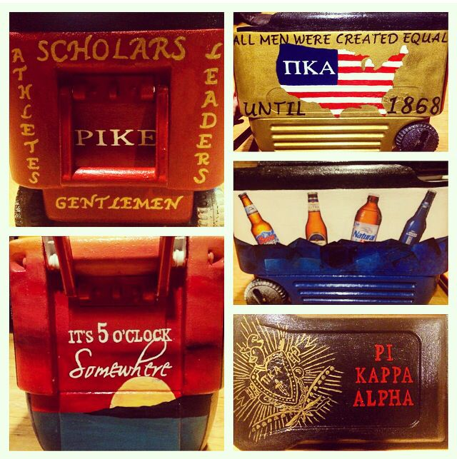 The PIKE fraternity cooler I made!