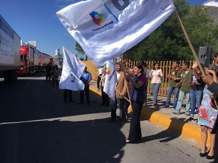Parten tres tráileres con más de 86 toneladas para Puebla y Oaxaca