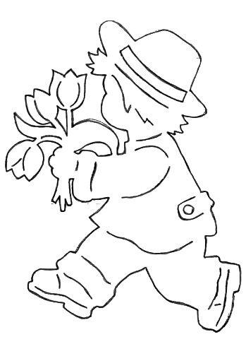 Inspirace pro jarní výzdobu oken. Zvířátka, jarní květinky ...