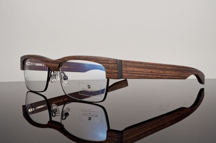 Gold & Wood Eyeglasses B13.1