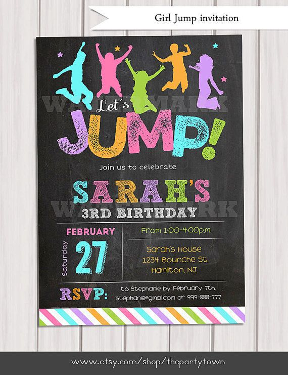 25+ Best Ideas about Trampoline Birthday Party on ...