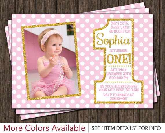 Best 25 1st birthday cards ideas – Baby First Birthday Card