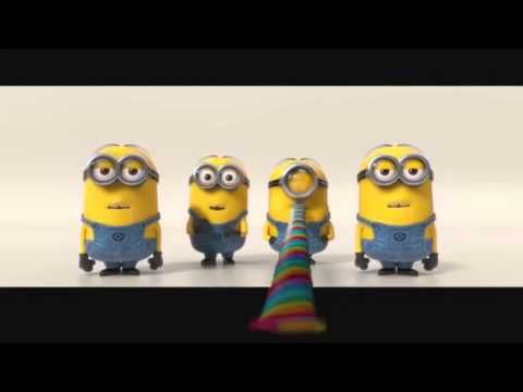Minions - Banana Song Official Music Video) In providing the voice of the Minions, Coffin uses words from several languages including French, English, Spanish and Italian. There are a lot of food references