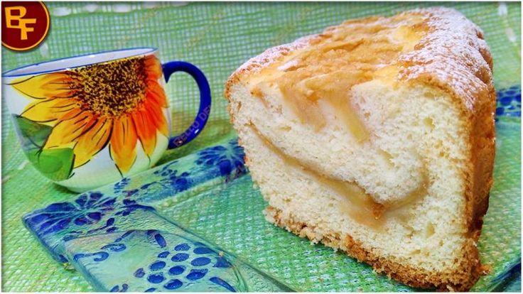 Il Bello del Fornello: plumcake soffice con marmellata e mele