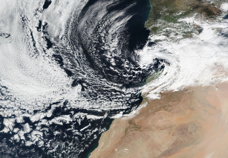 A blob of cold, humid Polar air sitting over southern Spain threatens to bring cold and rain to Gran Canaria and the eastern Canary Islands this week....