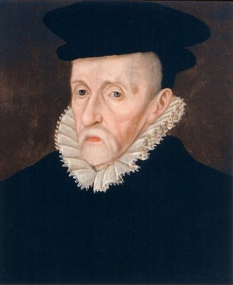Sir Walter Mildmay who founded Cambridge's Emmanuel College in 1584 where Protestant preachers would receive a good education and training. He was also a Privy Councillor during Elizabeth I's reign, and chancellor of the Exchequer from 1566 until his death in 1589.