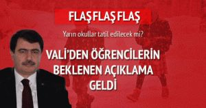 İstanbul'da yarın okullar tatil mi? 20.02.2015