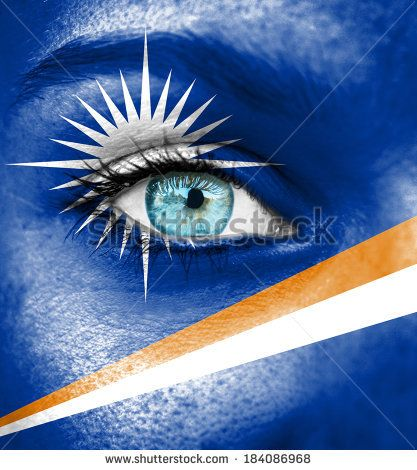 Women of the Marshall Islands | Marshall island flag Stock Photos, Illustrations, and Vector Art