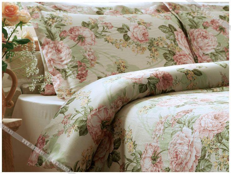 tivolyo постельное белье ibena бежевое с роскошными розами - купить в интернет магазине jofrua.ru