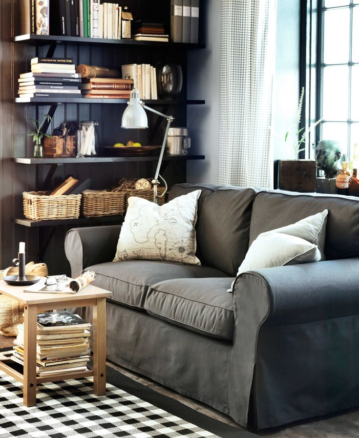 ikea sterreich inspiration wohnzimmer sitzecke sofa ektorp leuchte ar d teppich millinge. Black Bedroom Furniture Sets. Home Design Ideas