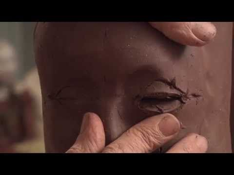 Two Ways to Sculpt Eyes on a Ceramic Figure - MELISA CADELL - YouTube