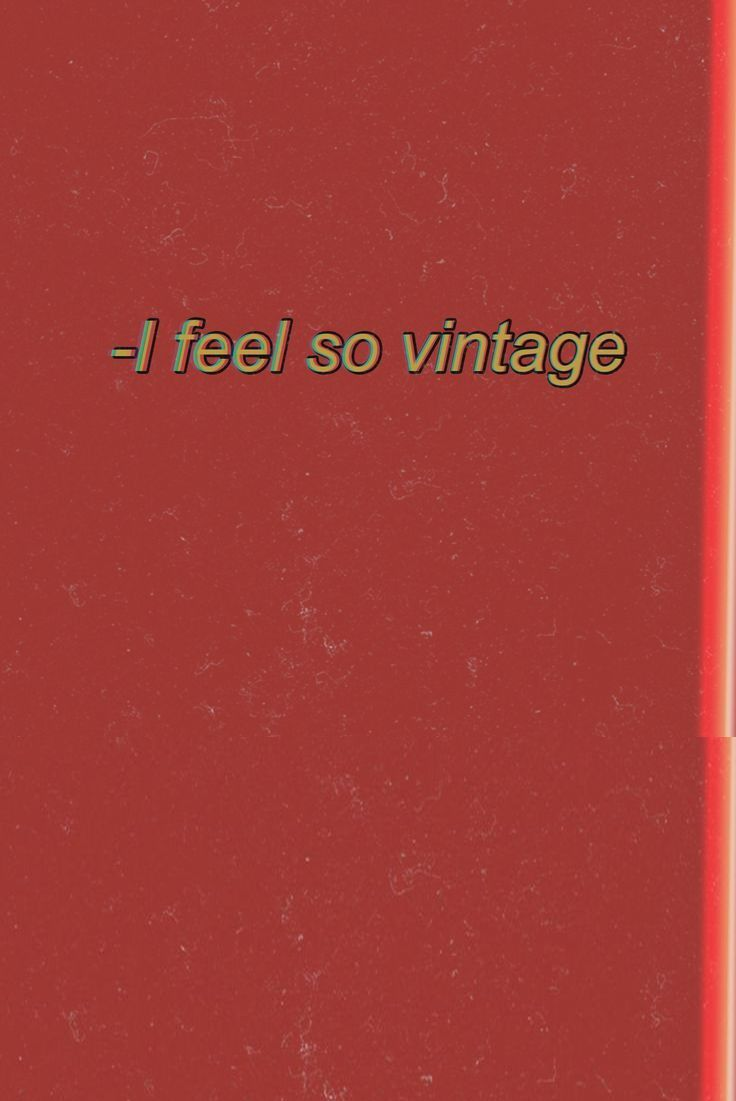 Vertigo Mood Red Aesthetic Vintage Red And Yelow Aesthetic