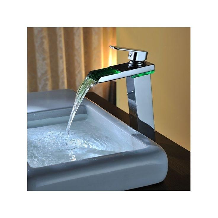 Kaufen (EU Lager)LED Waschtisharmatur Einhand Wasserhahn mit Günstigste Preis und Gute Service!