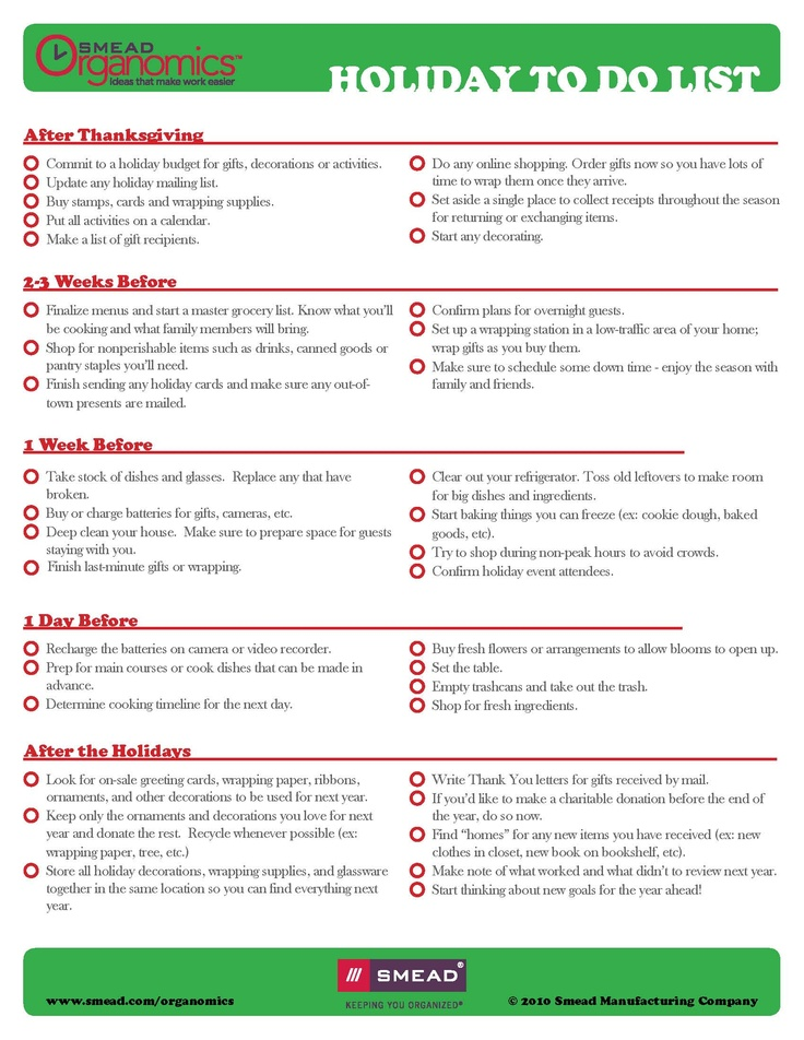 20 best Printable Checklists images on Pinterest Organization - checklists boosting efficiency reducing mistakes