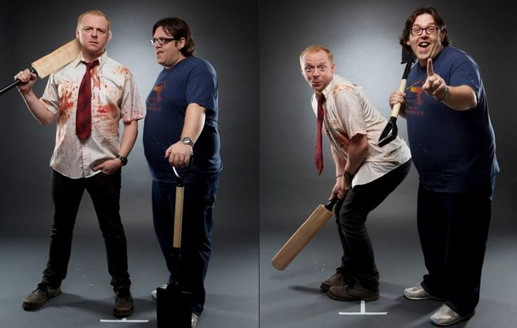 Simon Pegg and Nick Frost in Shaun of the Dead  Actors Return to their Most Iconic Roles for Empire's 20th