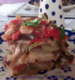 tiella/Włoska zapiekanka warzywna