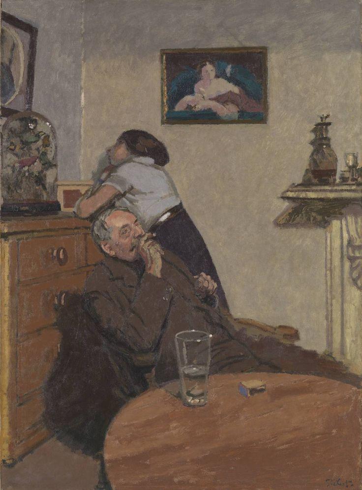 Ennui / Walter Richard Sickert / c. 1914 / oil on canvas
