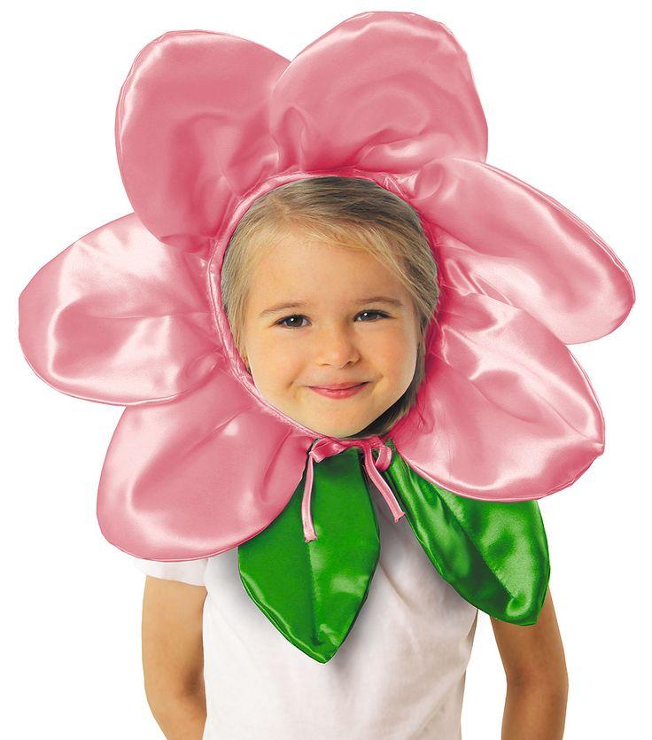 Czapka kwiatek- przepiękna, przesłodka, doskonała dla Twojego kwiatuszka na bal w przedszkolu, przedstawienie a także przyjęcie urodzinowe.