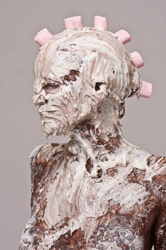 Keith Allen Phillips Creates Subversive Images Of Nude Women Covered With Sweets