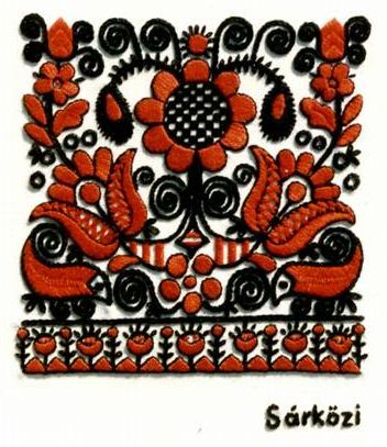 Hungarian embroidery/d.
