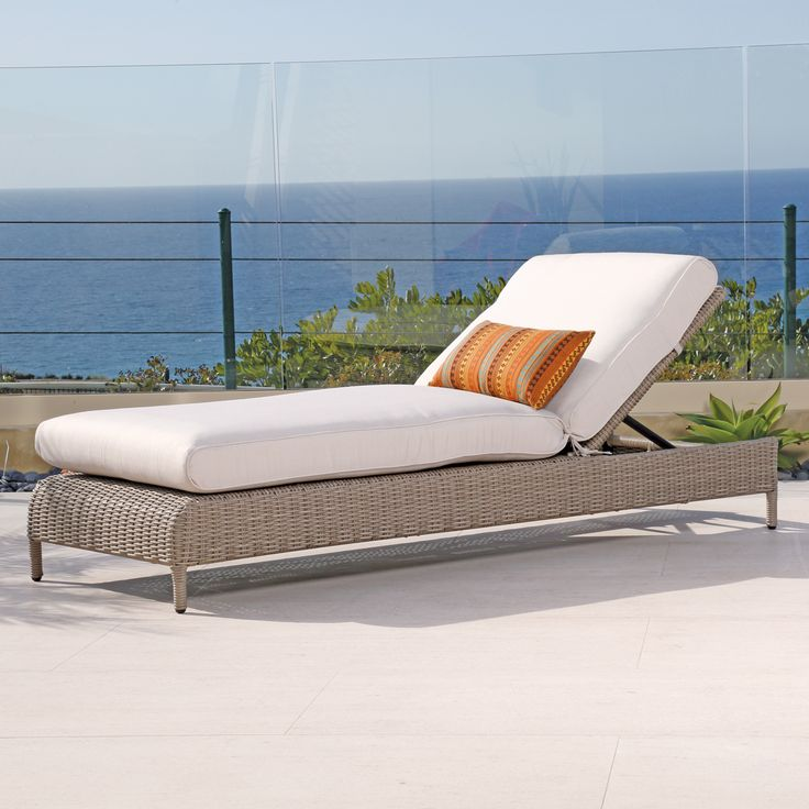 Charming Melrose Chaise Lounge | Thos. Baker · Wicker FurnitureOutdoor ...
