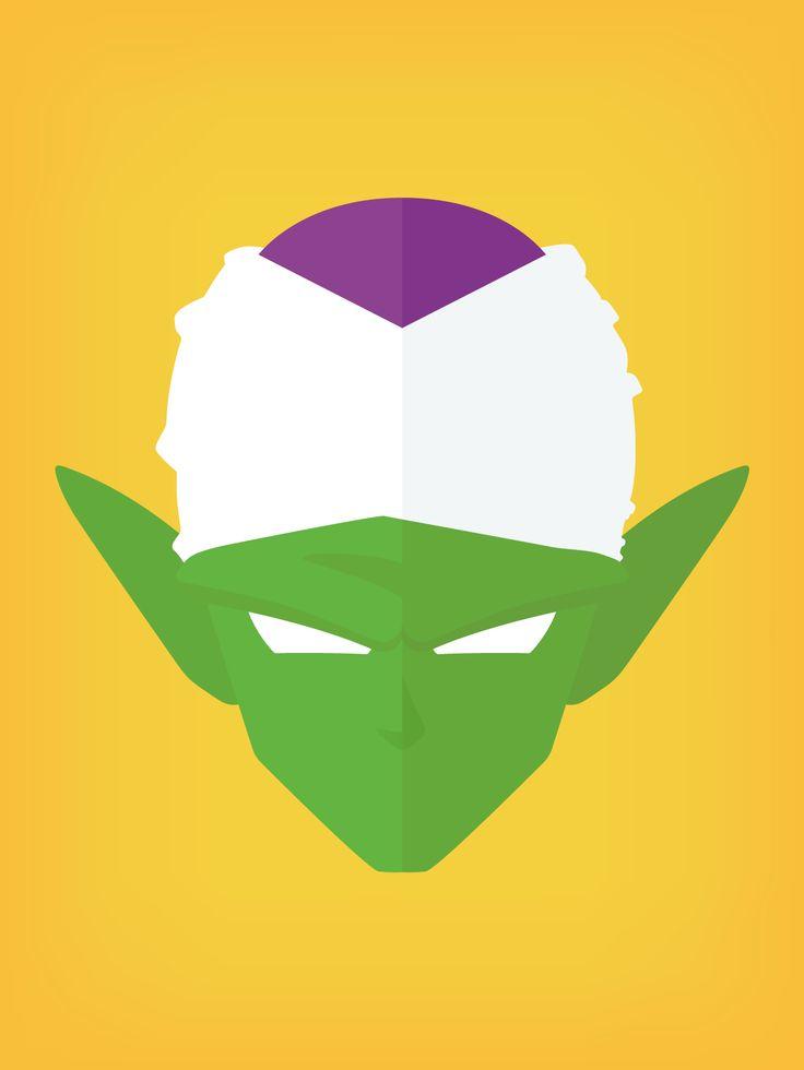 Piccolo from Akira Toriyama's Dragon Ball manga, illustration by Brian Le Normand. — www.brianlenormand.com #design #illustration #illustrator #flatdesign #flat #graphicdesign #shenron #beerus #beerussama #destruction #god #supersaiyan #supersaiyangod #ssg #dragon #dragonball #akiratoriyama #akira #toriyama #manga #redesign #piccolo #vector #art #goku #dragonballsuper #minimalism #dbs #dbz #db #graphism #graphic #character #petitcoeur #littlegreen #satan #namek #vectorart #graphicdesigner