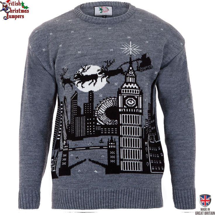 Christmas in London  - Mens Christmas Jumper