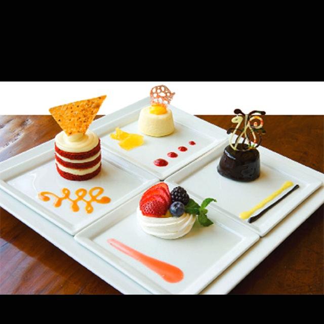 76 Best Plated Dessert Images On Pinterest Desserts