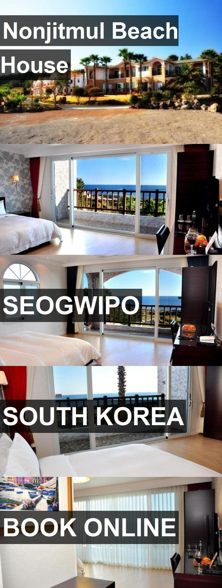 Hotel Nonjitmul Beach House in Seogwipo, South Korea. For more information, photos, reviews and best prices please follow the link. #SouthKorea #Seogwipo #travel #vacation #hotel