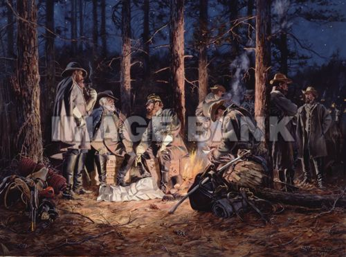 TCW33 - EVE OF THE STORM. Robert E. Lee and Stonewall Jackson have a last strategy meeting before the battle of Chancellorsville
