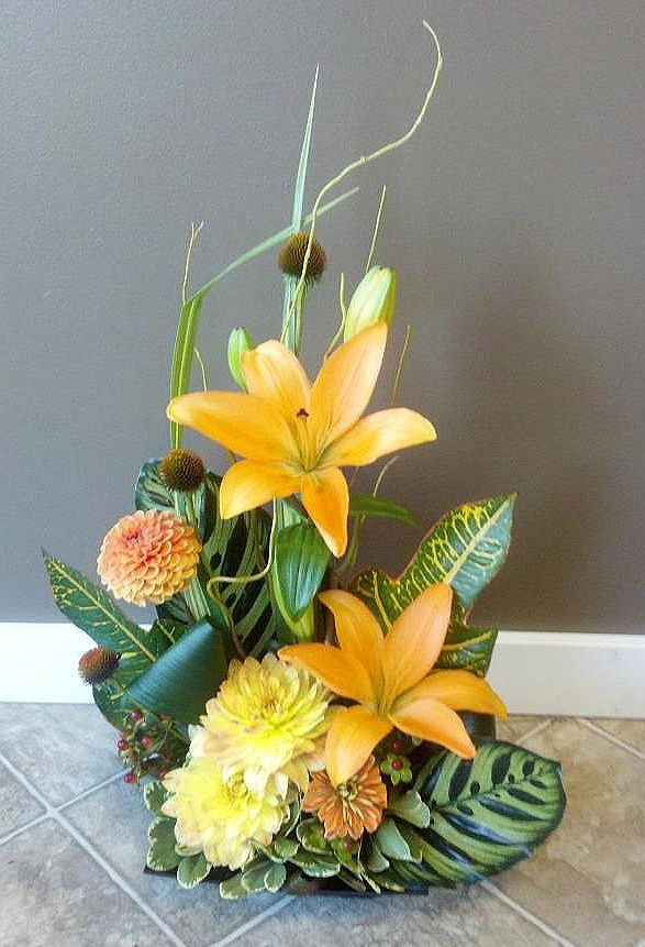 17 Best Images About Modern Flower Arrangement Design On