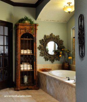 Tuscan+Bathroom+Decor | Tuscan Bathroom Decor Luxury Master Bathroom Decorating Accessories