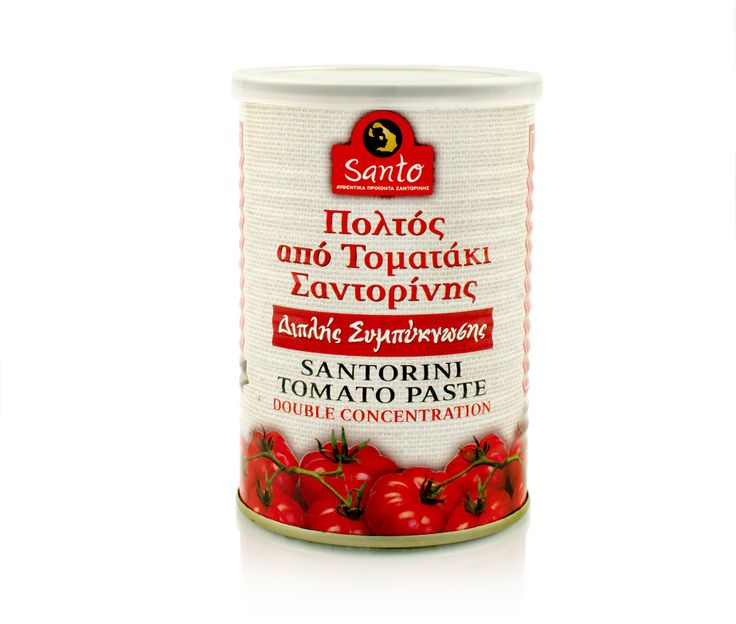Double condensation tomato paste from Santorini cherry tomato. A classic choice for our favorite traditional recipes like tomato sauce stew and oily foods which gives a velvety texture, naturally sweet flavor, deep red color and intense aroma.