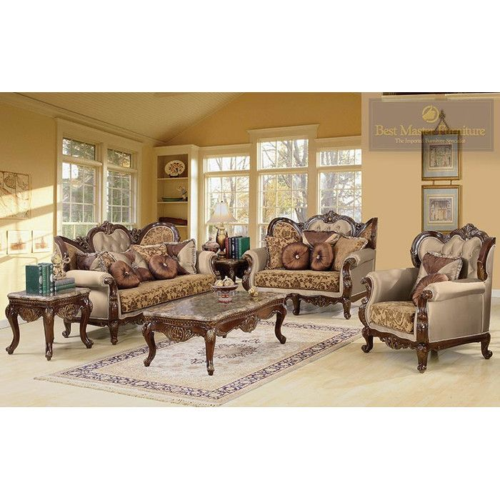 BestMasterFurniture Jenna 3 Piece Traditional Living Room Set U0026 Reviews |  Wayfair. Traditional SofaTraditional ...