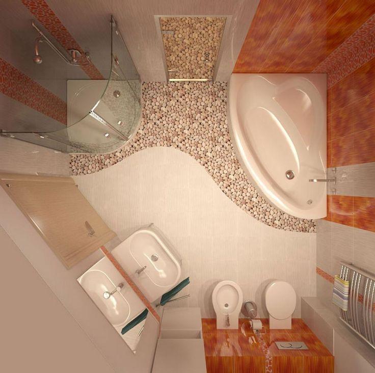 Душевые кабины в маленьких ваннах фото