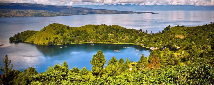 Lac Toba. Sumatra