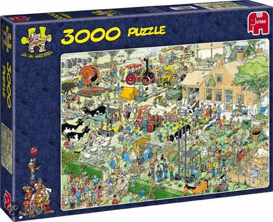 Jan van Haasteren De Boerderij - Puzzel - 3000 stukjes
