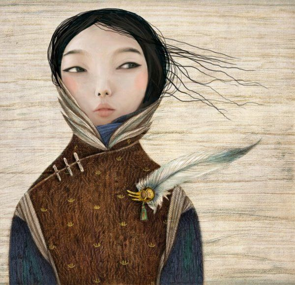 Illustrations for children by Inna Kapustenko , via Behance