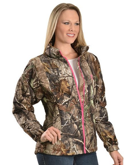 Browning Women's Realtree Camouflage Coat  @ sheplers.com  <3 love!
