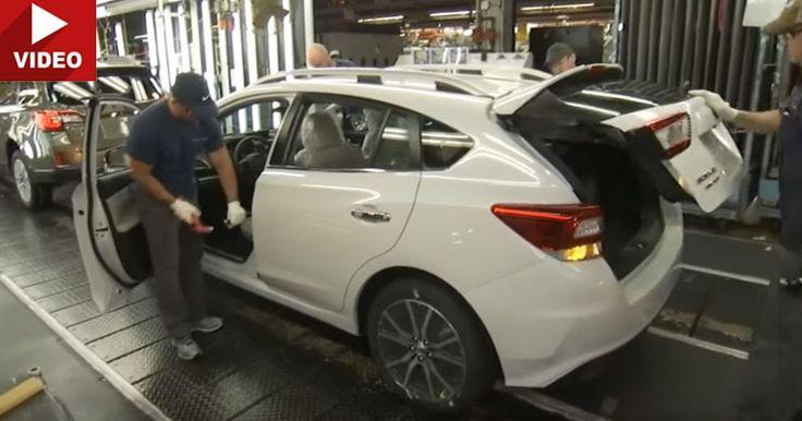 Watch The Subaru Impreza Come To Life In The USA For The First Time #Subaru #Subaru_Impreza