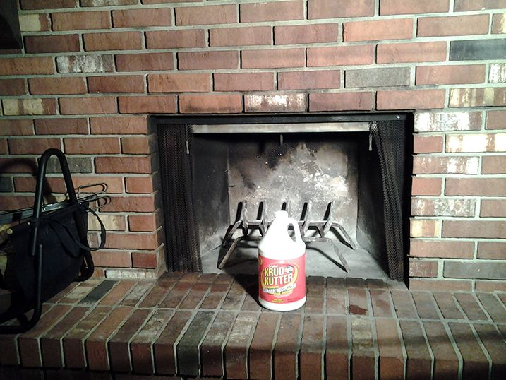 Remove Smoke And Sot Stains From Your Fireplace With Just One Cleaning Product Original Krud