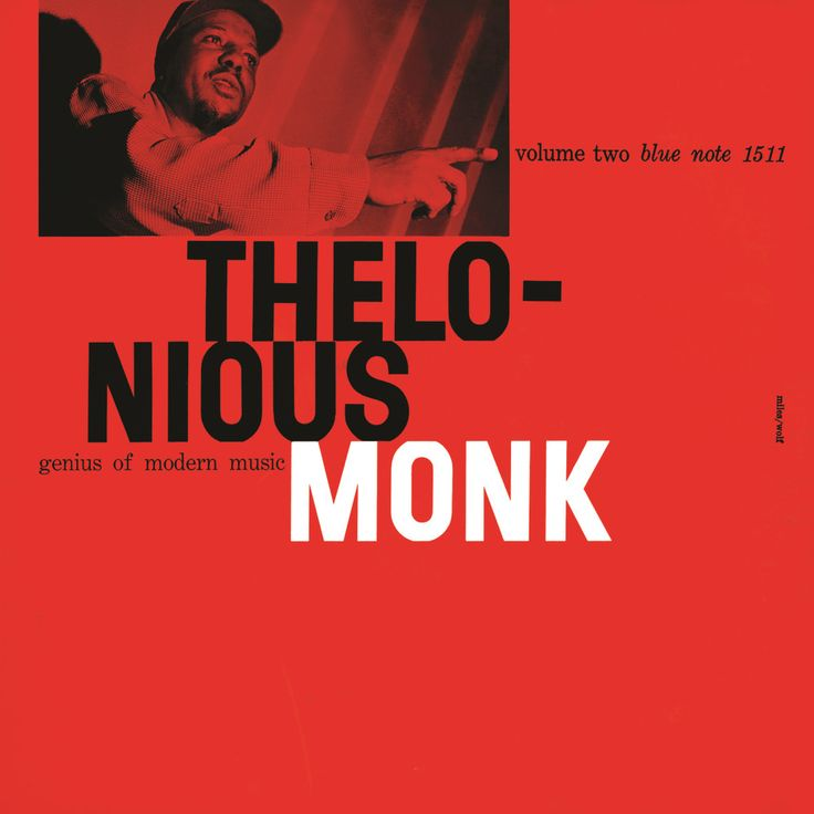 Thelonious Monk - Volume Two (cover art: Reid Miles)