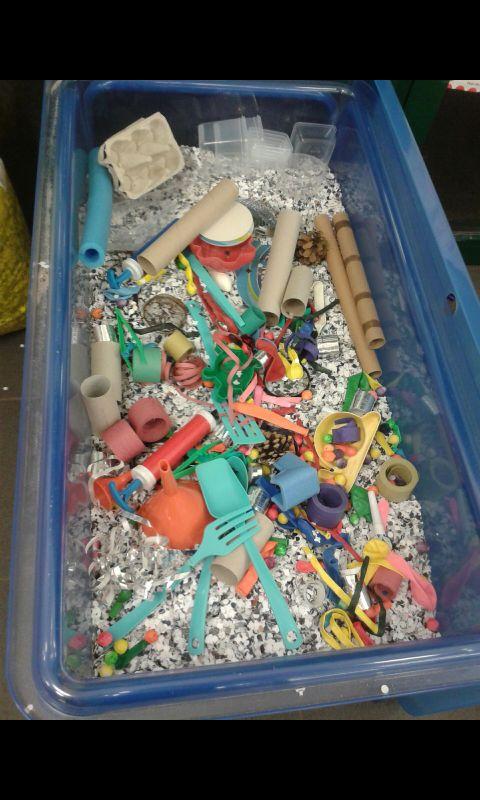 Ontdekbak carnavalsmaterialen 5-jarigen