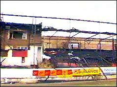 11 May, 1985 ♦  Fans killed in Bradford stadium fire