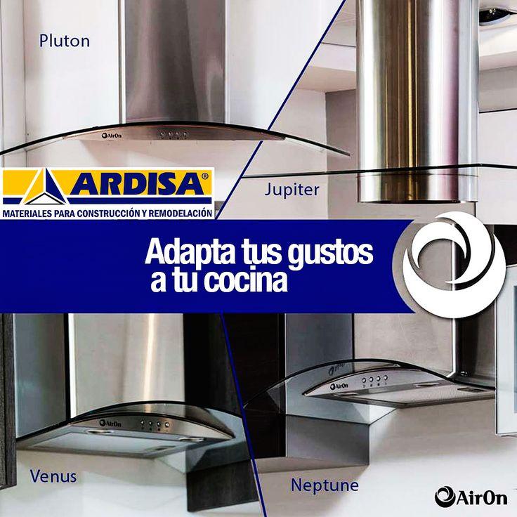 Cuando se trata de campanas con #AirOn tienes para escoger la que más se adapte a tus gustos o necesidades de tu cocina #ARDISA #Electrodomésticos