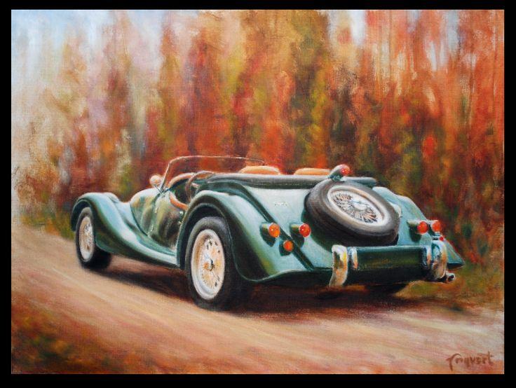 Angvert. Oil on canvas. Ca 600 mm.