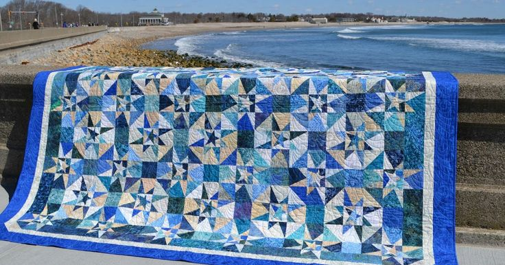 I cannot tell you what a relief it is that this quilt is done! Now I just need to have the tickets printed so the members can start selli...