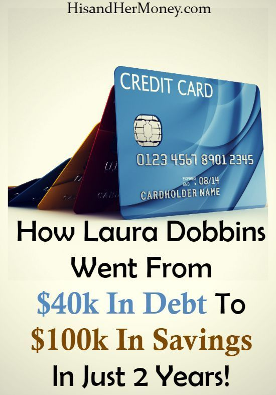 If you have the desire to become debt free, then you don't want to miss this debt free story. Laura Dobbins has a phenomenal story of how she went from $40,000 worth of debt, to $100,000 in her savings account, in just 2 years!