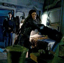 """Octavia// """"You lying piece of shit!"""" I throw something at you"""