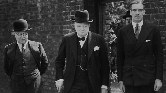 Churchill becomes Prime Minister  10 May 1940    Friday 10 May 1940 was one of the most dramatic days in British history. The government was in disarray as Winston Churchill became PM and, on the continent, Germany ended the Phoney War by invading the Low Countries.    Photo: Churchill leaving Downing St with Sir Kingsley Wood and Anthony Eden